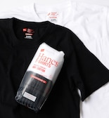 Hanes×SHIPS: 別注 NEW Japan Fit COMFORT WEIGHT 5.3 WHITE