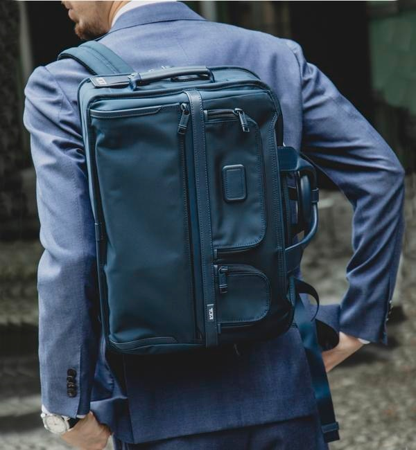 【シップス/SHIPS】  TUMI for SHIPS: 『ALPHA 3』 3WAY ブリーフ