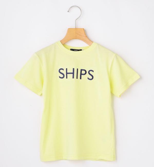 【シップス/SHIPS】 SHIPS KIDS:ピンクはWEB限定!<ファミリーおそろい>SHIPS ロゴ TEE(100?160cm)
