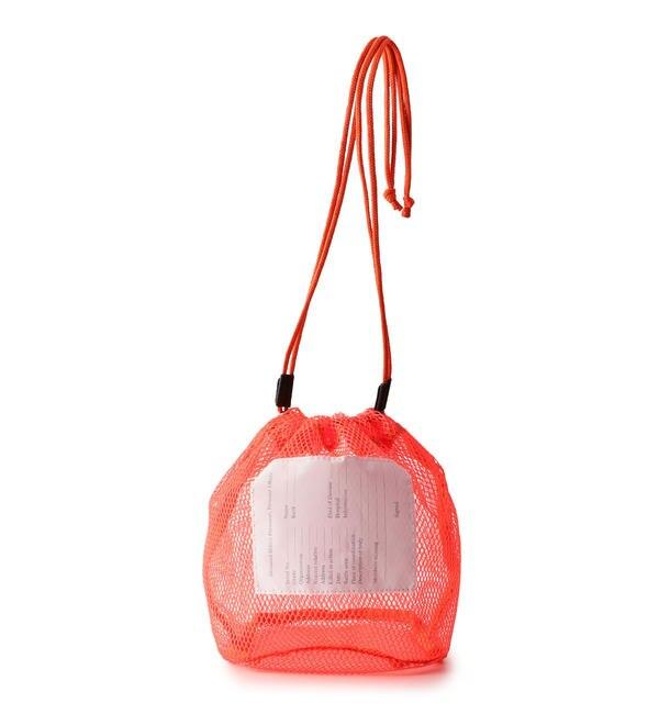 【シップス/SHIPS】 20/80:メッシュ巾着バッグ