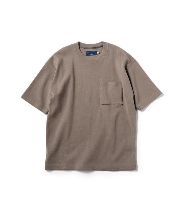 【シップス/SHIPS】 CURLY for SHIPS: ヘビー ジャージー Tシャツ