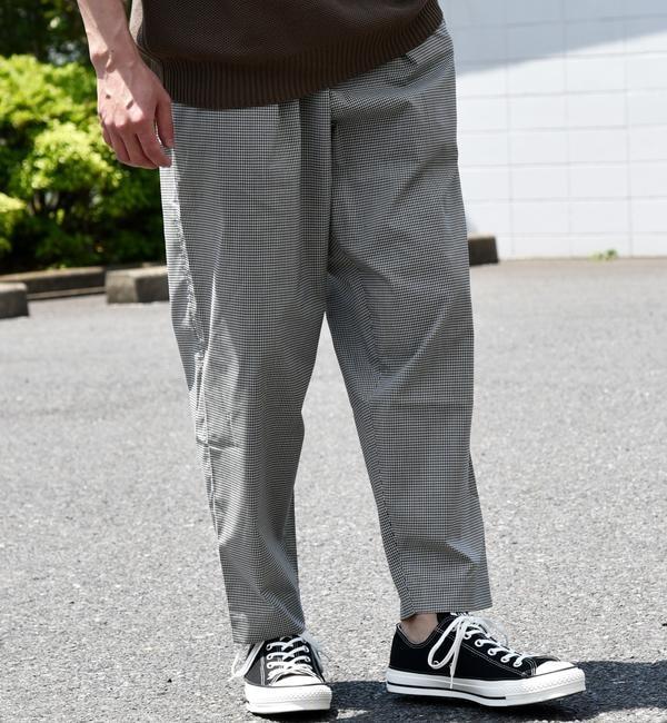 メンズファッションオススメ|【シップス/SHIPS】 SU:【SOLOTEX(R)】リネン混 ワイドテーパード アンクル パンツ