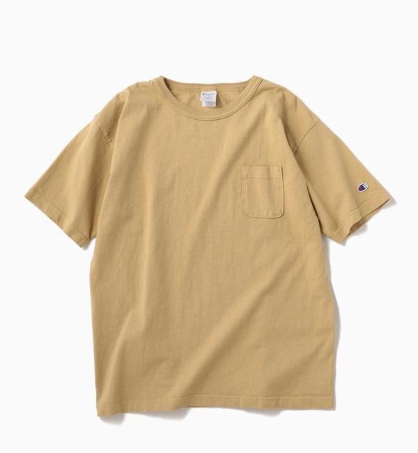 MADE (SHIPS) (メンズ) Tシャツ/ T1011 Champion: USA シップス IN ポケット