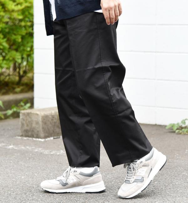 人気ファッションメンズ|【シップス/SHIPS】 SU: COOLMAX(R) ツイルストレッチ カットオフ アンクル パンツ