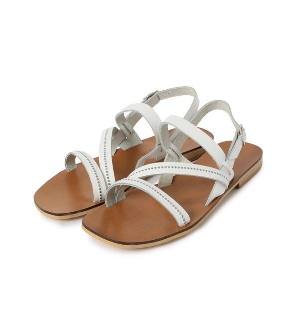 【シップス/SHIPS】 The Sandals Factory:STUDS サンダル