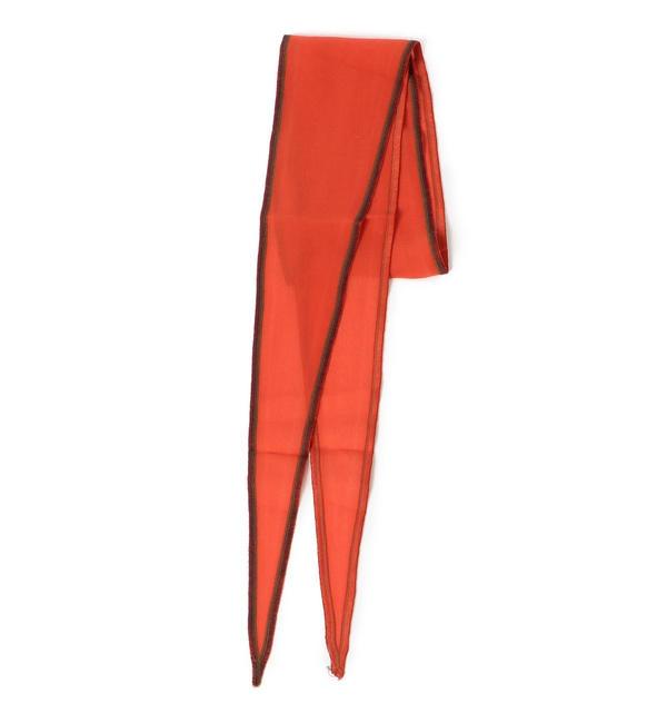【シップス/SHIPS】 THE LITTLE PROJECT:シルクロングスカーフ