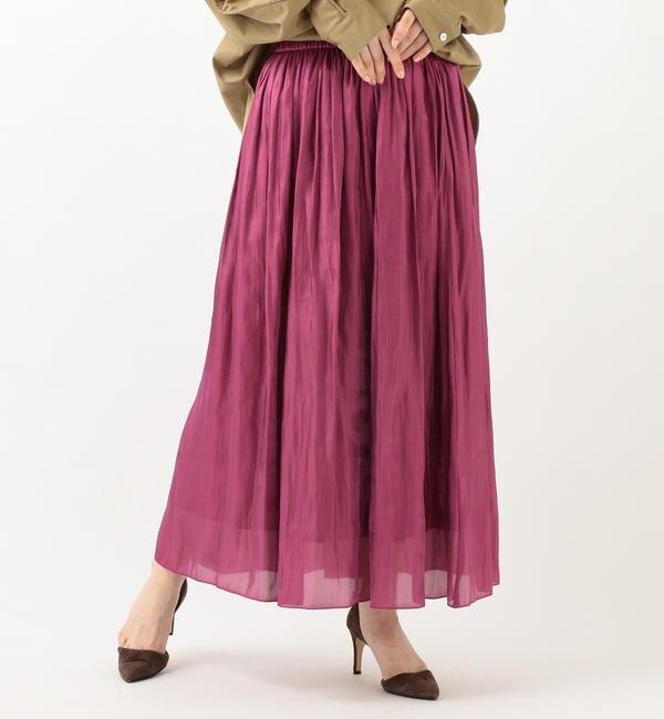 【シップス/SHIPS】 プラチナムカッセンスカート