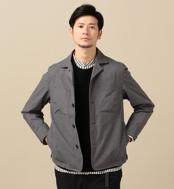 人気メンズファッション|【シップス/SHIPS】 SC: ウェザークロス ストレッチ ライト ブルゾン