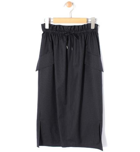 【トゥモローランド/TOMORROWLAND】 ヘリンボーンストライプ ギャザースカート [送料無料]