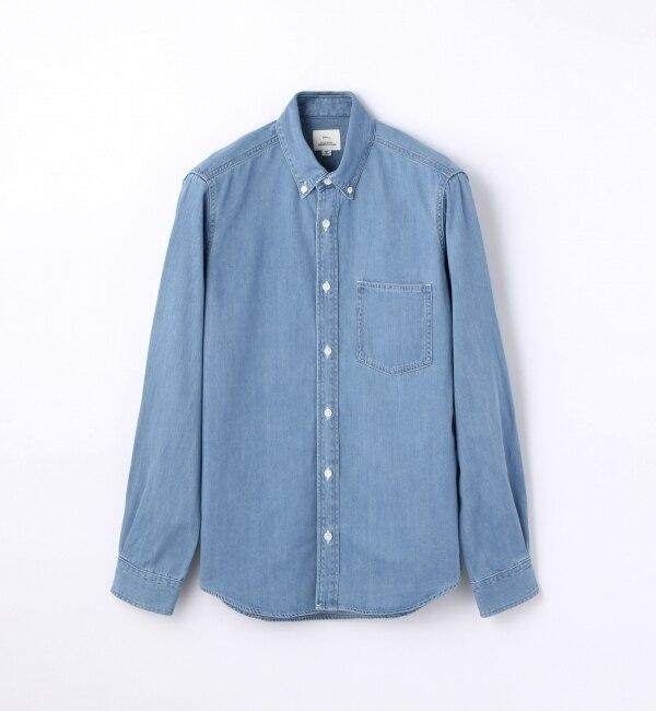 【トゥモローランド/TOMORROWLAND】 デニム レギュラーカラーシャツ [CLEVELAND] [送料無料]