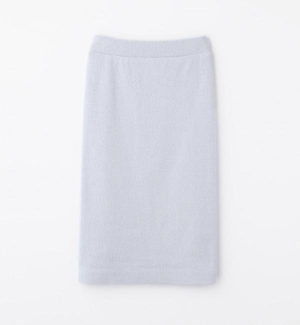 【トゥモローランド/TOMORROWLAND】 コットンリングジャージー ミディタイトスカート [送料無料]