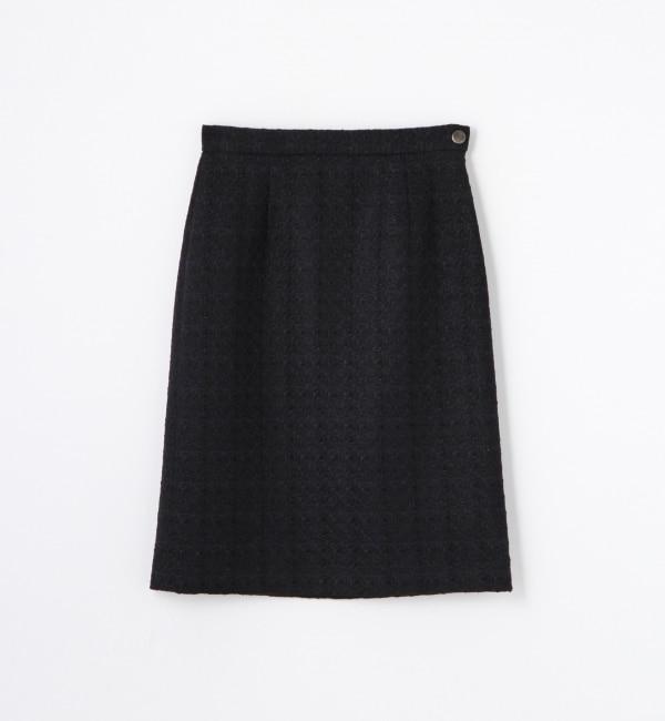 【トゥモローランド/TOMORROWLAND】 ミニリングツイード タイトスカート [送料無料]
