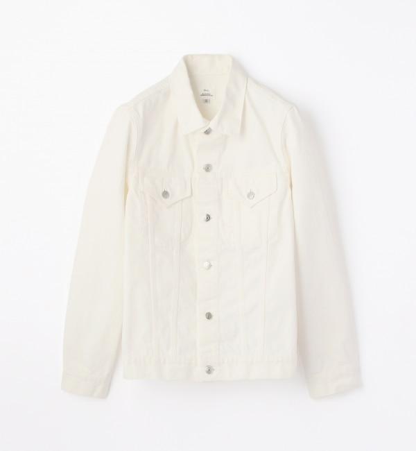【トゥモローランド/TOMORROWLAND】 ホワイトデニム ジャケット [3RD] [送料無料]