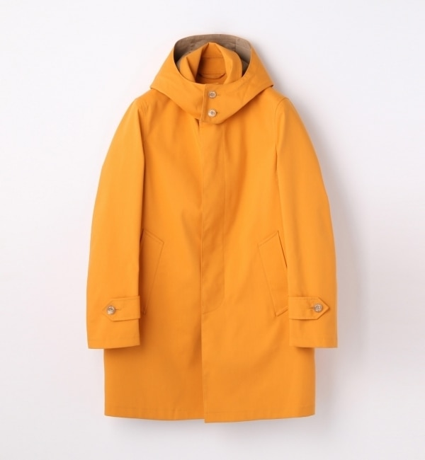 【トゥモローランド/TOMORROWLAND】 ボンディング フーデッドステンカラーコート [REGENT COAT] [送料無料]