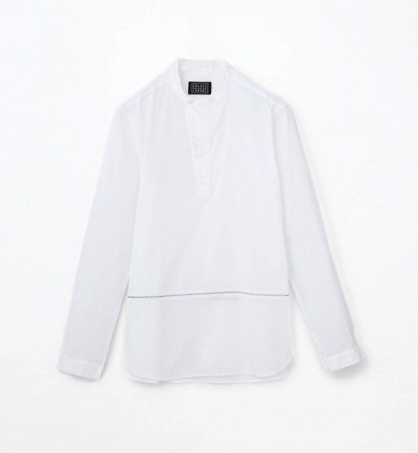 【トゥモローランド/TOMORROWLAND】 コットンローン スタンドカラーシャツ [FIELD SHIRTS] [送料無料]