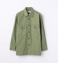 【トゥモローランド/TOMORROWLAND】ヴィンテージオックスミリタリーシャツ[送料無料]