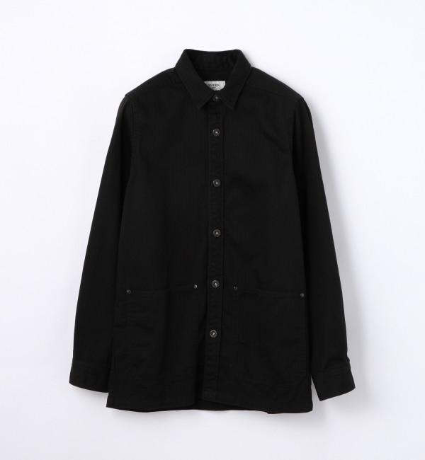 【トゥモローランド/TOMORROWLAND】 スーピマヘリンボーン カバーオール [送料無料]