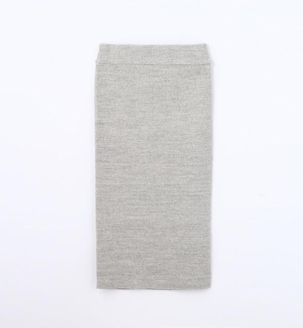 【トゥモローランド/TOMORROWLAND】 ストレッチリブ タイトスカート [送料無料]