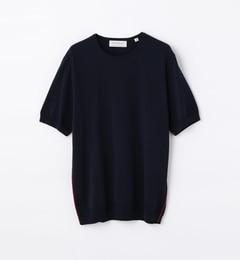 【トゥモローランド/TOMORROWLAND】サイドパイピングニットTシャツ[送料無料]