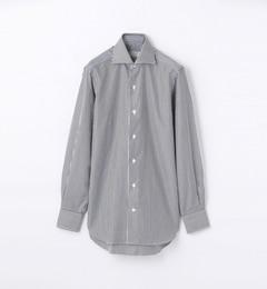 【トゥモローランド/TOMORROWLAND】140/2コットンブロードワイドカラードレスシャツ[送料無料]
