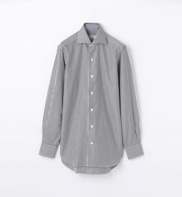 【トゥモローランド/TOMORROWLAND】 140/2コットンブロード ワイドカラー ドレスシャツ NEW WIDE-5