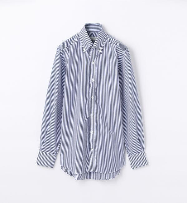 【トゥモローランド/TOMORROWLAND】 140/2コットンブロード ボタンダウン ドレスシャツ NEW BD-4