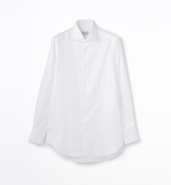 【トゥモローランド/TOMORROWLAND】 140/2コットンツイル ワイドカラー ドレスシャツ NEW WIDE-5