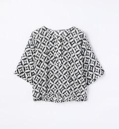 【トゥモローランド/TOMORROWLAND】コットンリネンクロップドシャツ[送料無料]