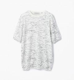 【トゥモローランド/TOMORROWLAND】ラインカモフラージュニットTシャツ[送料無料]