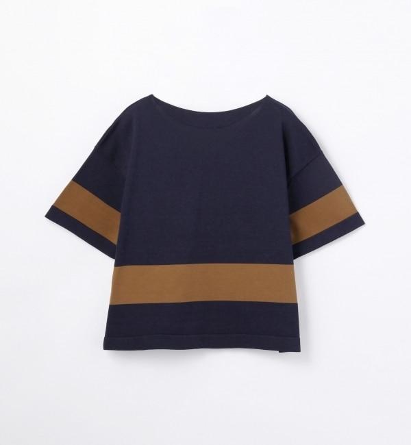 【トゥモローランド/TOMORROWLAND】 コットンポリエステル ニットTシャツ [送料無料]
