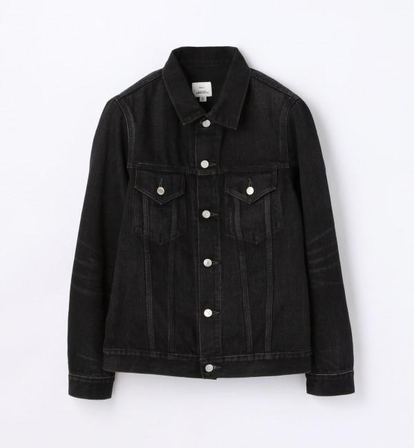 【トゥモローランド/TOMORROWLAND】 ブラックデニム ジャケット [3RD] [送料無料]