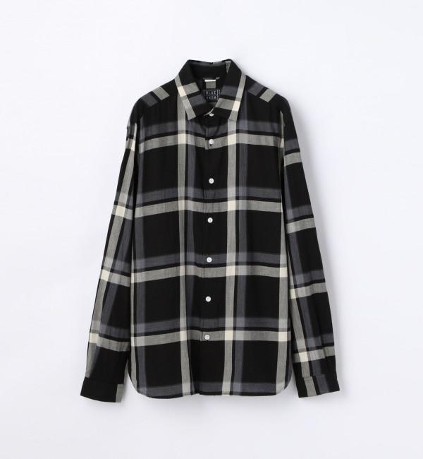 【トゥモローランド/TOMORROWLAND】 デンバークロス レギュラーカラーシャツ [TRONTO] [送料無料]