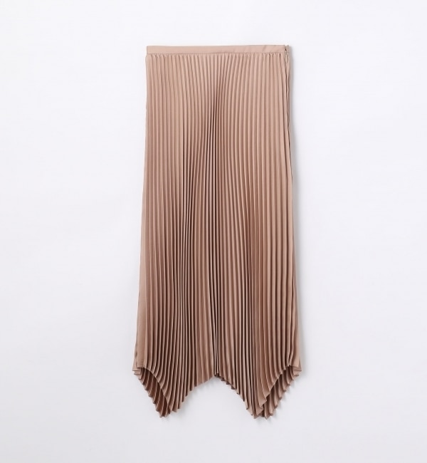 【トゥモローランド/TOMORROWLAND】 ポリエステル プリーツスカート [送料無料]