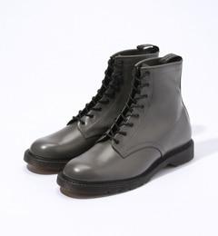 foot the coacher S.S. BOOTS レザーブーツ【トゥモローランド/TOMORROWLAND メンズ ショートブーツ チャコールグレー ルミネ LUMINE】