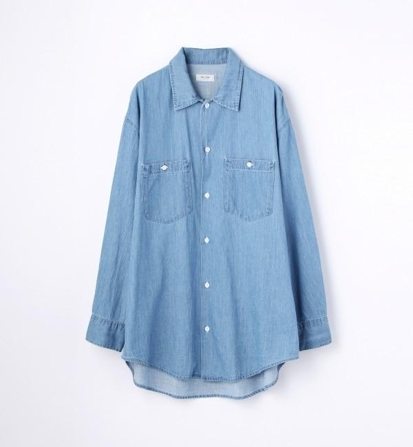 【トゥモローランド/TOMORROWLAND】 ライトオンスデニム ビッグシャツ [送料無料]
