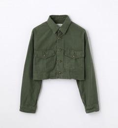 【トゥモローランド/TOMORROWLAND】 バックサテン ショートシャツジャケット [送料無料]