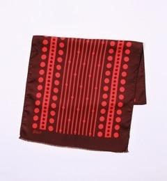 【トゥモローランド/TOMORROWLAND】 Blech シルク ドットデザインストール [送料無料]