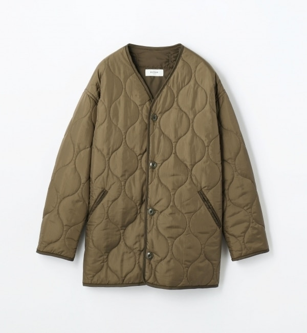 【トゥモローランド/TOMORROWLAND】 リップストップ キルティングジャケット [送料無料]