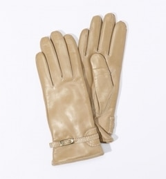 【トゥモローランド/TOMORROWLAND】 Gala Gloves ラムレザー ベルテッドグローブ [送料無料]
