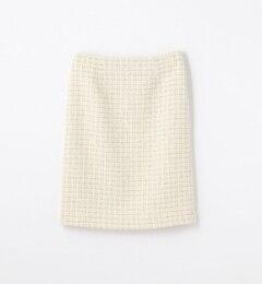 【トゥモローランド/TOMORROWLAND】ミックスツイードIラインスカート[送料無料]