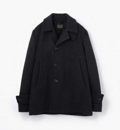 ウールメルトン シングルピーコート [DECK HAND COAT]【トゥモローランド/TOMORROWLAND ピーコート】