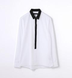 【トゥモローランド/TOMORROWLAND】コットンブロードレギュラーカラーシャツ[送料無料]