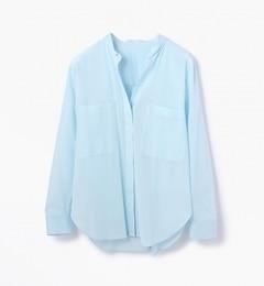 【トゥモローランド/TOMORROWLAND】コットンボイルビッグシャツ[送料無料]