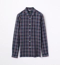 【トゥモローランド/TOMORROWLAND】シーポートチェックレギュラーカラーシャツ[TRONTO][送料無料]