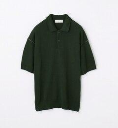 【トゥモローランド/TOMORROWLAND】7ゲージコットンニットポロシャツ[送料無料]