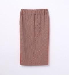 【トゥモローランド/TOMORROWLAND】マルチカラーバスケットタイトスカート[送料無料]