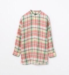 【トゥモローランド/TOMORROWLAND】 リネン スタンドカラービッグシャツ [送料無料]