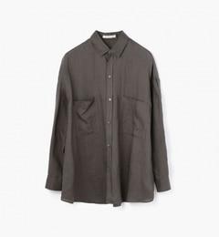 【トゥモローランド/TOMORROWLAND】リネンビッグシャツ[送料無料]