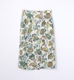 【トゥモローランド/TOMORROWLAND】 ボタニカルプリント ラップタイトスカート [送料無料]