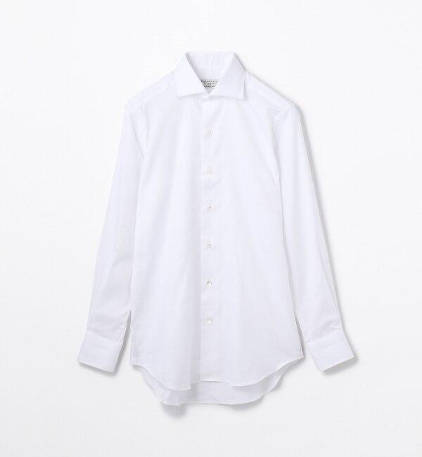 【トゥモローランド/TOMORROWLAND】 120/2コットンロイヤルオックス ワイドカラー ドレスシャツ [送料無料]